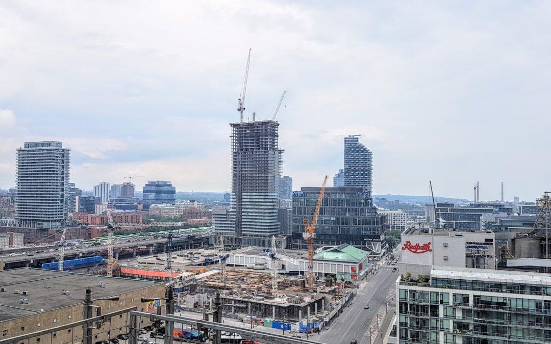 Pier 27 Construction & Utilities Servicing Update, July 15, 2019