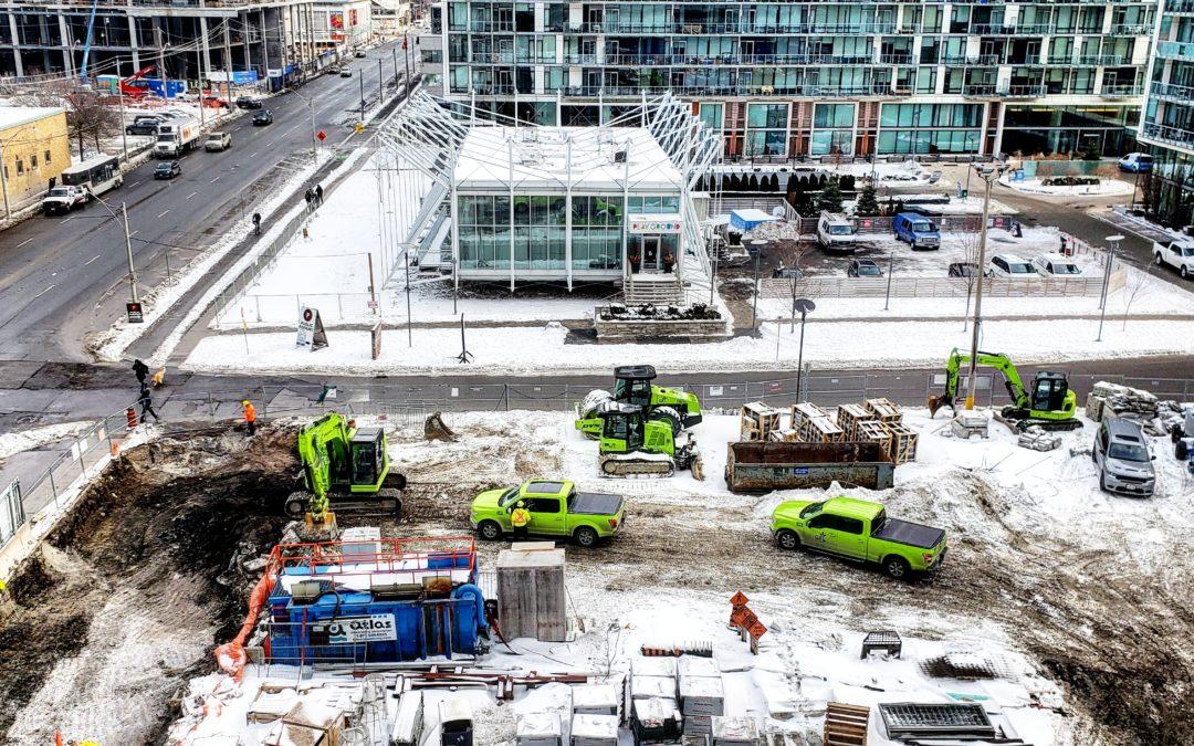 Pier 27 Update on GFL Work & Driveway Access January 27 & 28, 2020