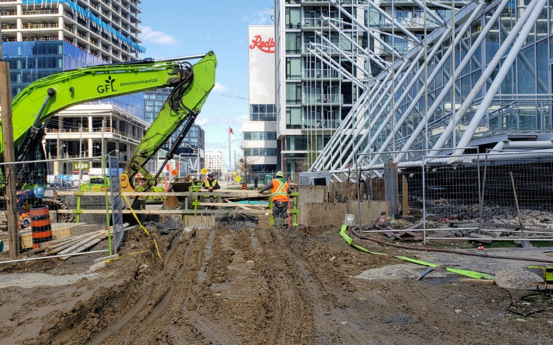 Construction update for Pier 27, week of May 4, 2020